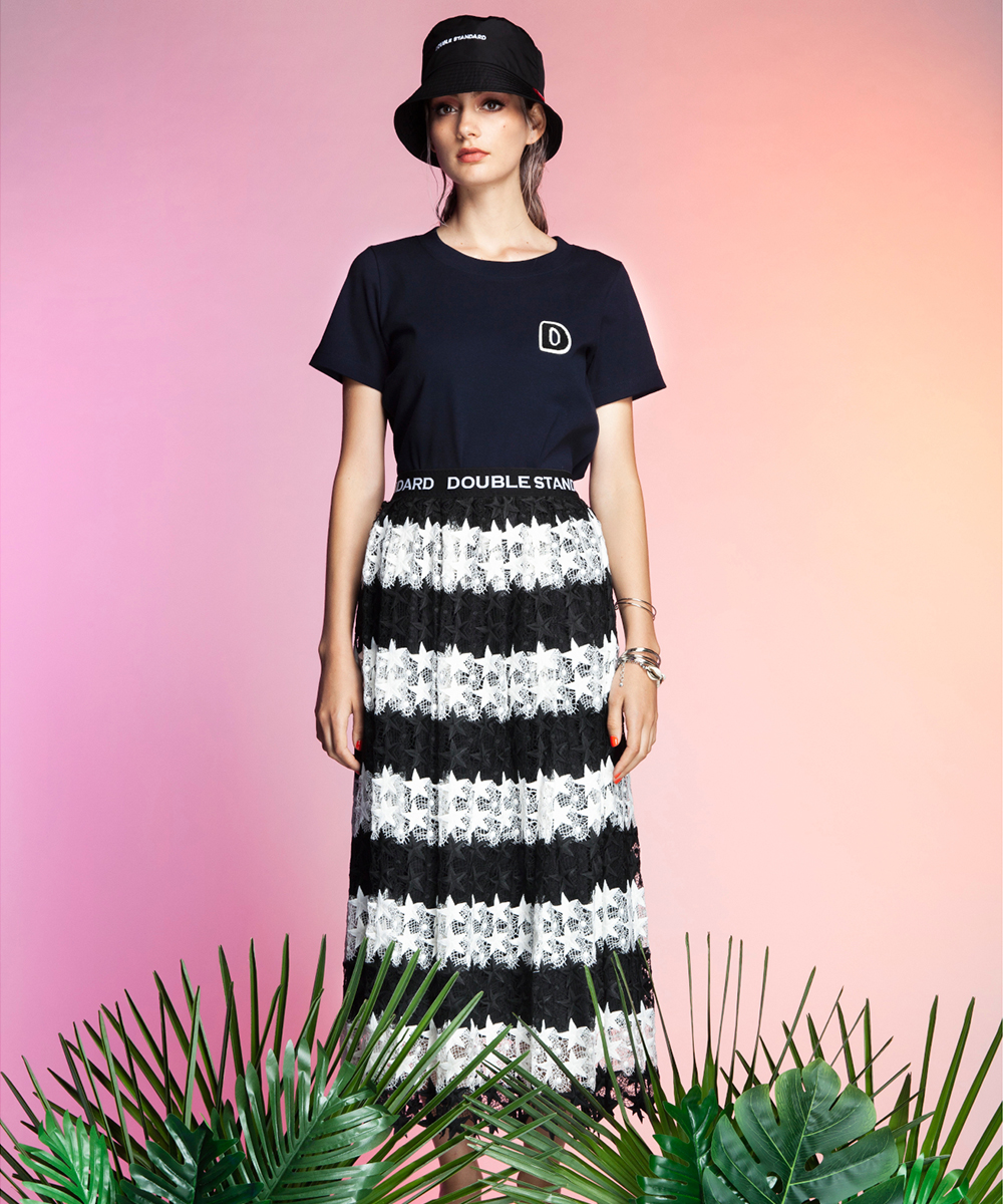 DSC/24/-フライスDロゴTシャツ
